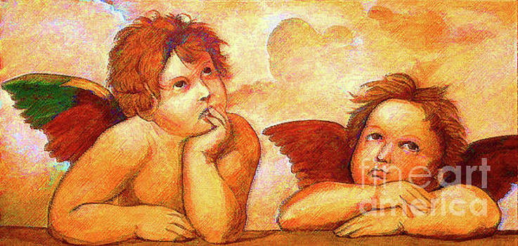 Angels by D Fessenden