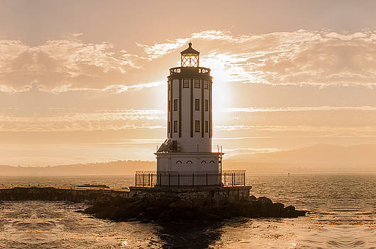 Angels Gate Lighthouse by Carlos Sanchez