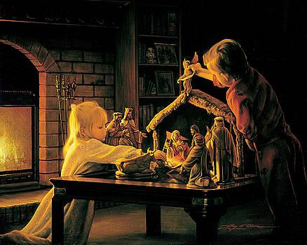 Angels of Christmas by Greg Olsen