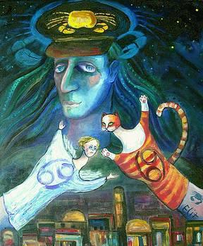 Elisheva Nesis - ANGELS OF ZODIAC. CANCER THE CRAB