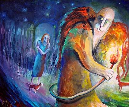 Elisheva Nesis - ANGELS OF ZODIAC. LEO THE LION