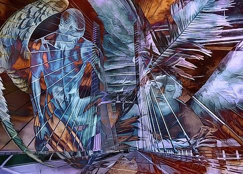 Angels On The Bridge by Daniel Arrhakis