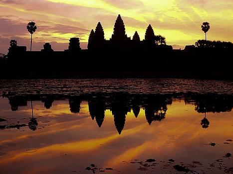 Angkor Wat Again by Darren Kearney
