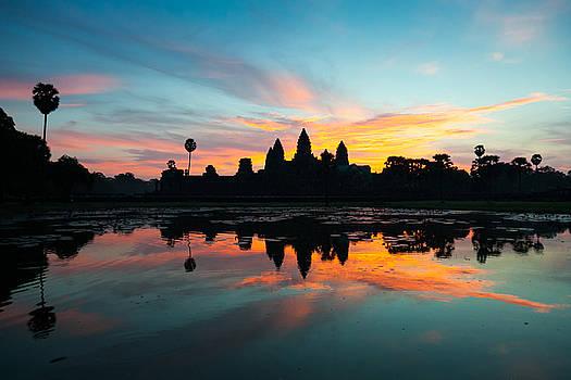 Fototrav Print - Angkor Wat at Sunrise