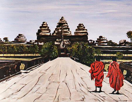 Angkor Wat by Carol Tsiatsios