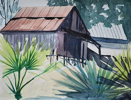 Angler's Lake Cabin by James Nuce