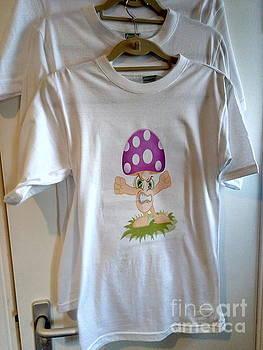 Angry Mushroom - T Shirt by Mudiama Kammoh