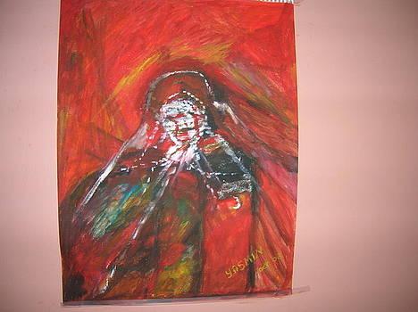 Angry woman by Zeenath Diyanidh