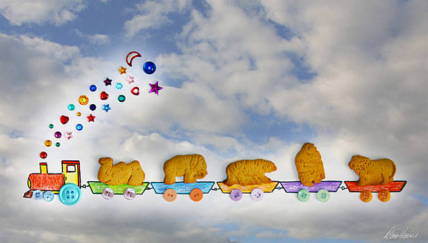 Animal Cracker Train by Diana Haronis