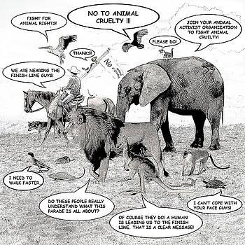 Animal Parade Comic Illustration by Solomon Barroa