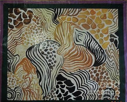 Animal Print Floor Cloth by Judith Espinoza