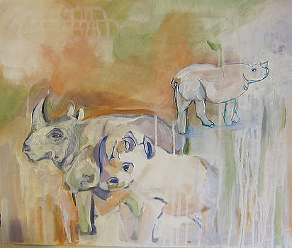 Animals From Another Time by Colette Wirz