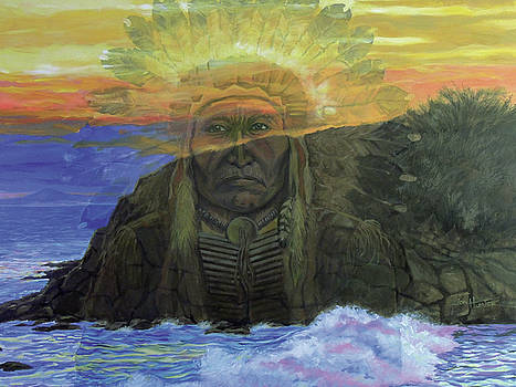 Anishinaabe by Jon Hunter