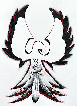 Anishinaabe Thunderbird by Ayasha Loya