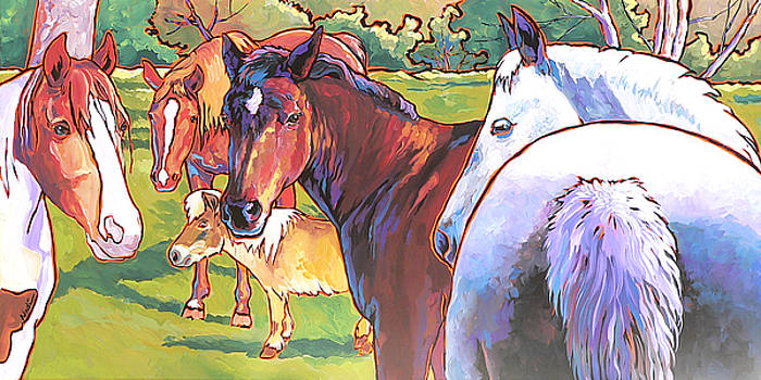 Anjelica Huston's Horses by Nadi Spencer