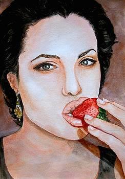 Anjelina Jolie by Shashikanta Parida