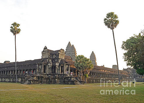 Angkor Wat Sunrise Tom Wurl by Tom Wurl