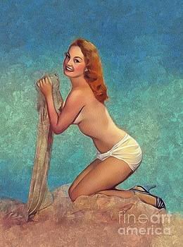 Mary Bassett - Ann Sheridan, Actress/Pinup