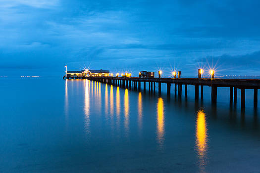 Anna Maria City Pier by Patrick Downey