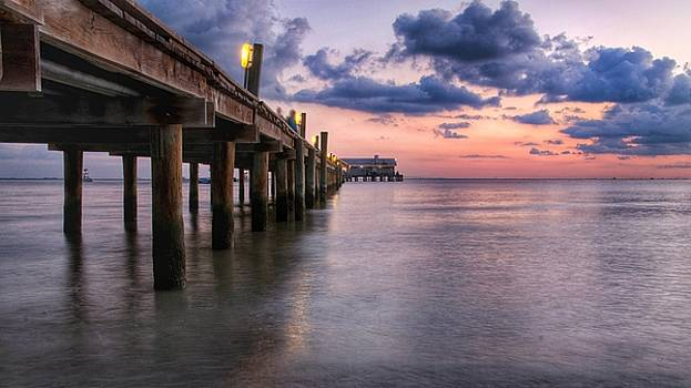 Anna Maria City Pier by Tony DellOrfano
