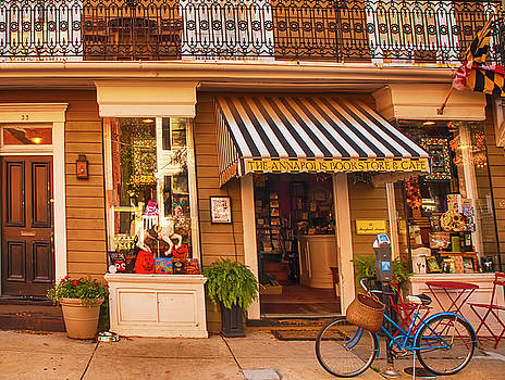 Annapolis Bookstore by Mick Burkey