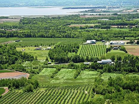 Annapolis Valley, Nova Scotia by Brian Chase