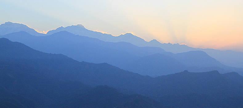 Annapurna Mountains Nepal by Kurt Williams