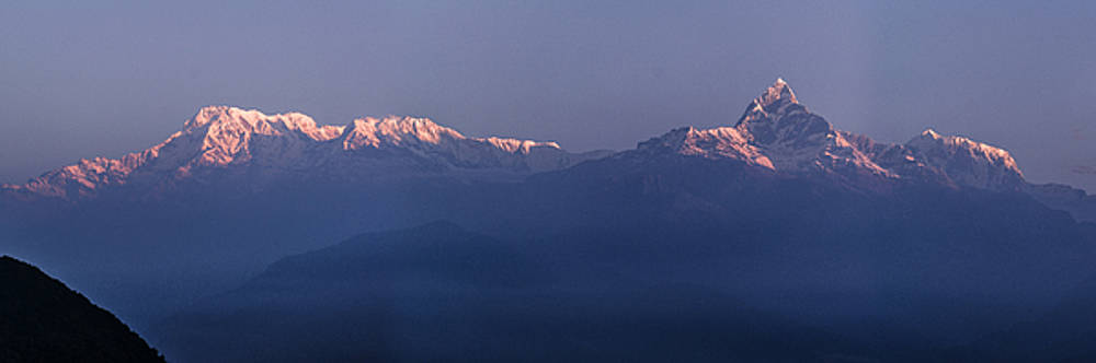 Annapurna view by Atul Daimari