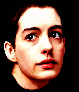 Anne Hathaway as Fantine by Martin James