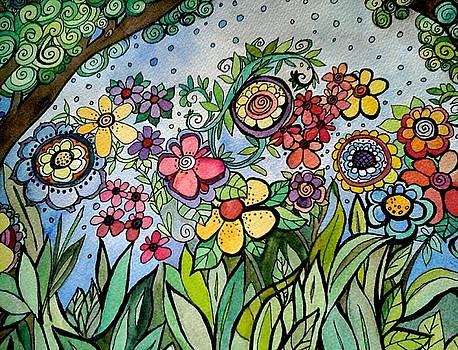 Annette's Garden by Claudia Cole Meek