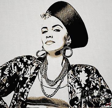 Annie Lennox Collection - 1 by Sergey Lukashin