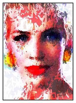 Annie Lennox Pop Art 80s by Steve K