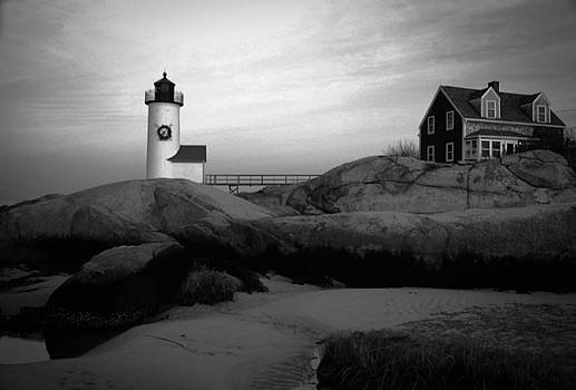 Annisquam Light by Martin Kahn