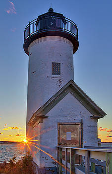 Annisquam Lighthouse by Juergen Roth