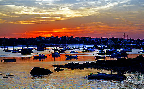 Annisquam Sunset by Elaine Somers