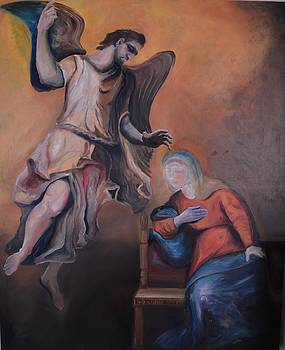 Annunciation by Alex Spinello