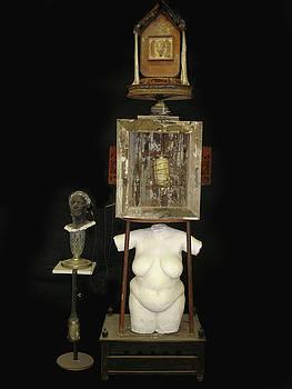 Annunciation Altar by Marc David Leviton