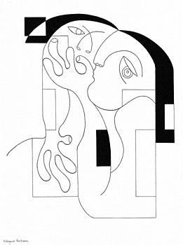 Anonymus by Hildegarde Handsaeme