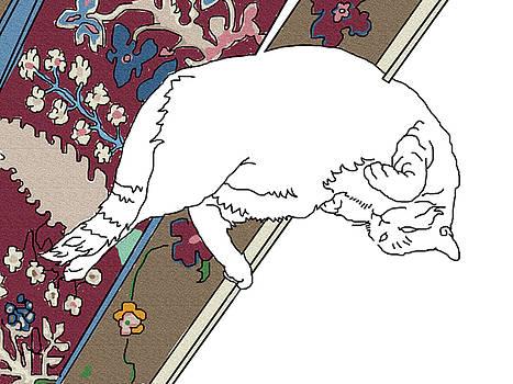 Stan  Magnan - Another Cat on a Carpet
