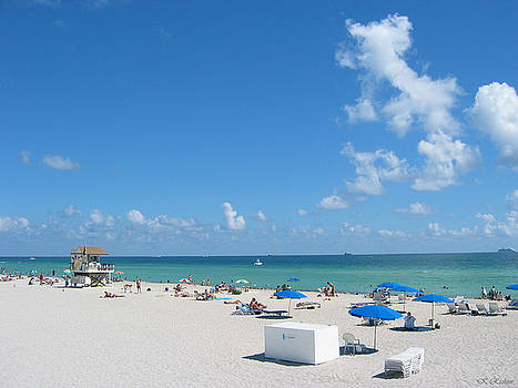 another fine day in South Beach by Keiko Richter