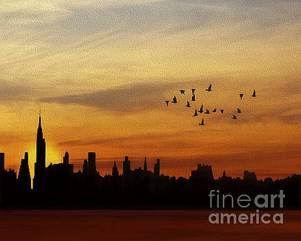 Another New York Sunrise by Tom York Images