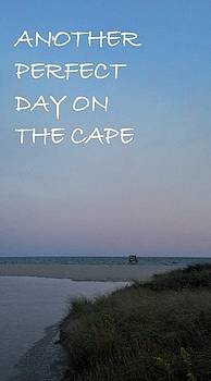 Sharon Williams Eng - Another Perfect Day on The Cape with Text