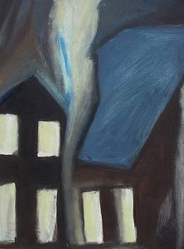 Another Suburban Night by Ron Erickson