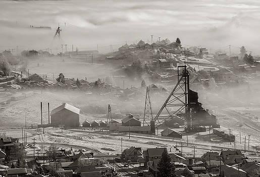 Scott Wheeler - Anselmo Mine in the Mist