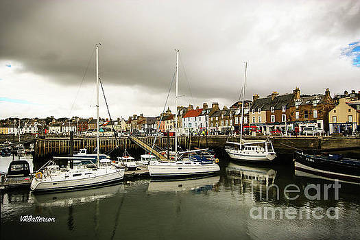 Anstruther Scotland by Veronica Batterson