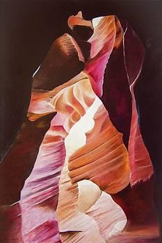 Antelope Canyon 1 by Michael McGrath