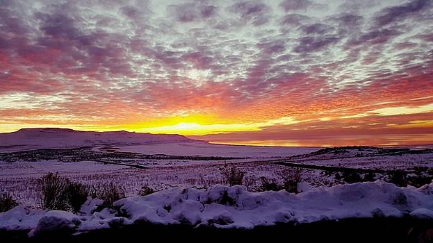 Antelope Island Sunset by Jason Ross