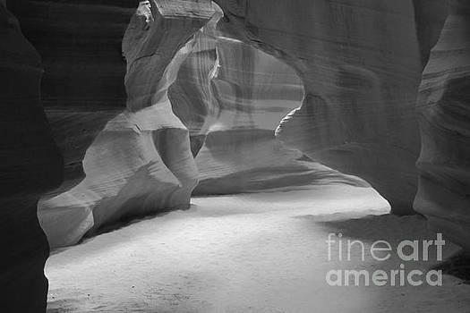 Adam Jewell - Antelope Slot Canyon Black And White
