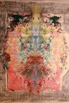 Anthropomorphic Deity by Brian c Baker