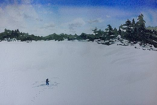 Anticipation On The Ice by Sarah Guy-Levar